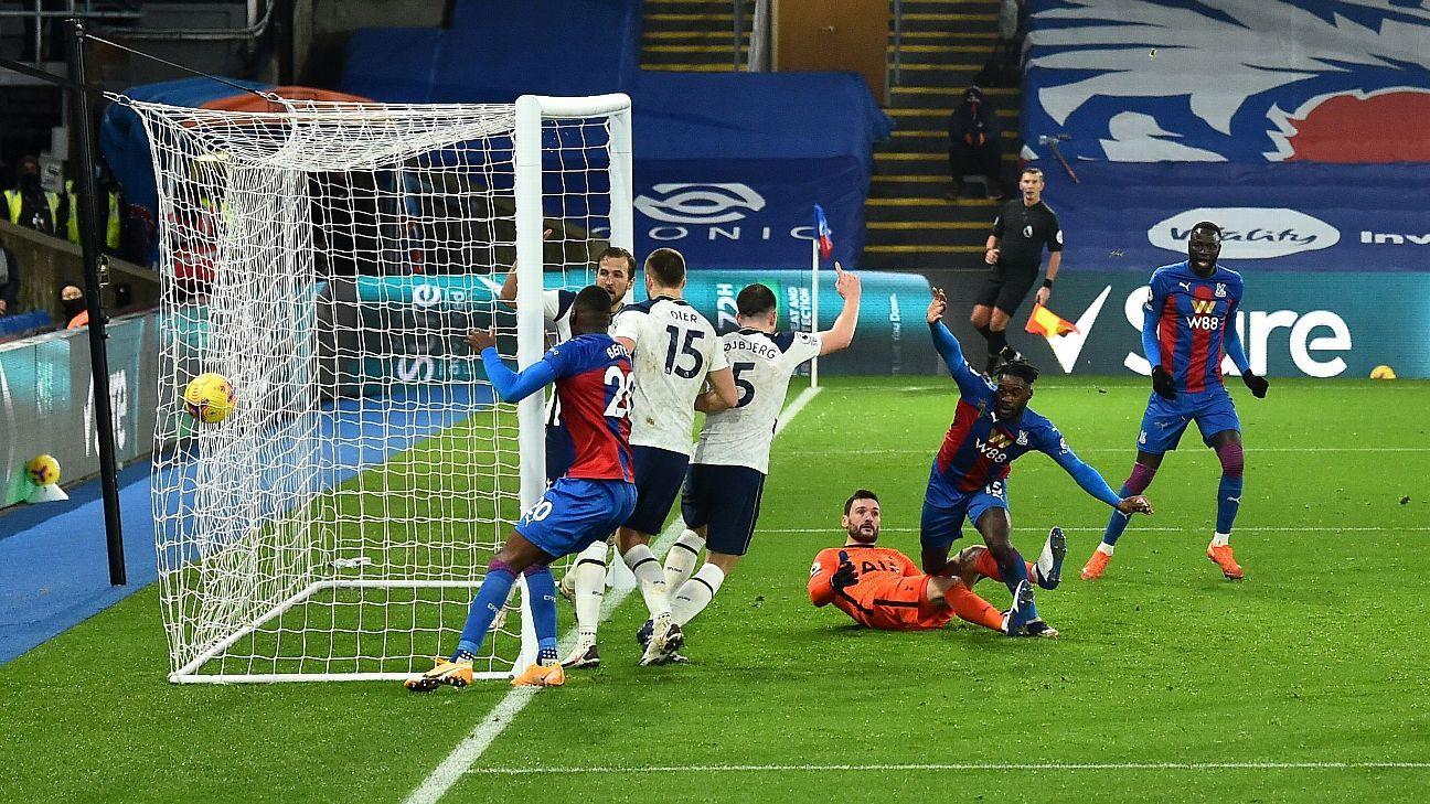 Crystal Palace Vs Tottenham Hotspur Football Match Summary December 13 2020 Espn