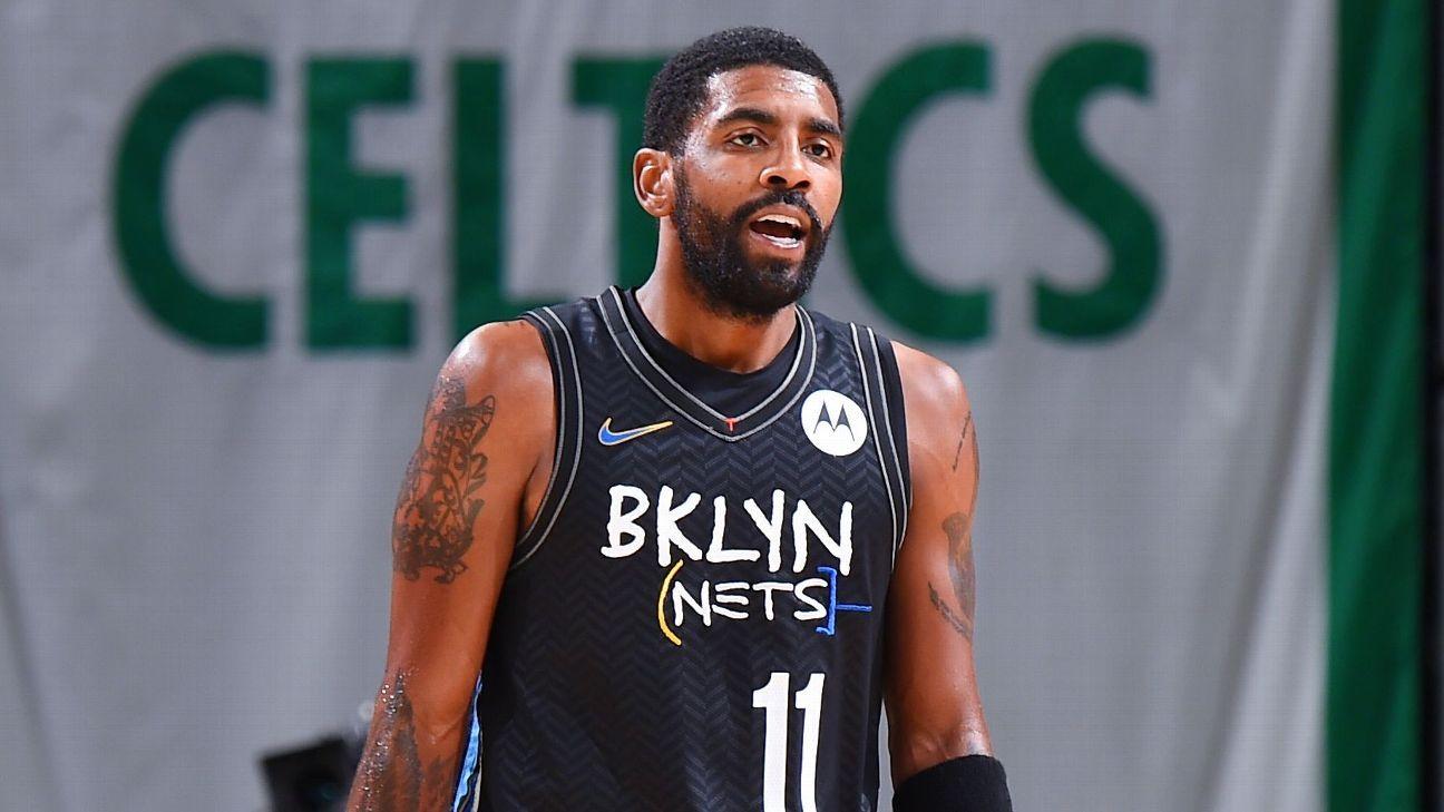 Kyrie questionable for return to Nets vs. Bucks