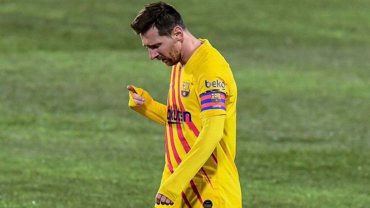 Messi will have 'final say' on availability for Supercopa final - Koeman - ESPN