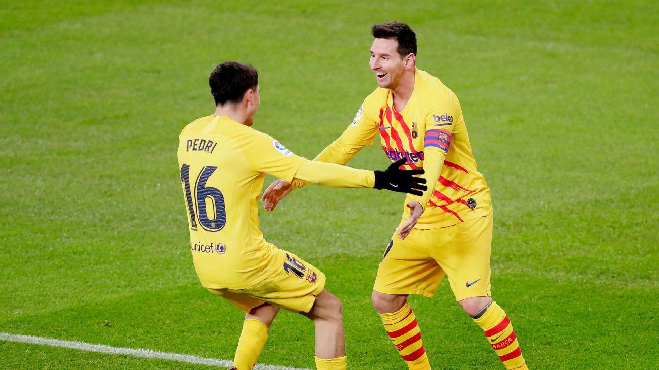 Athletic Bilbao vs. Barcelona - Football Match Report ...