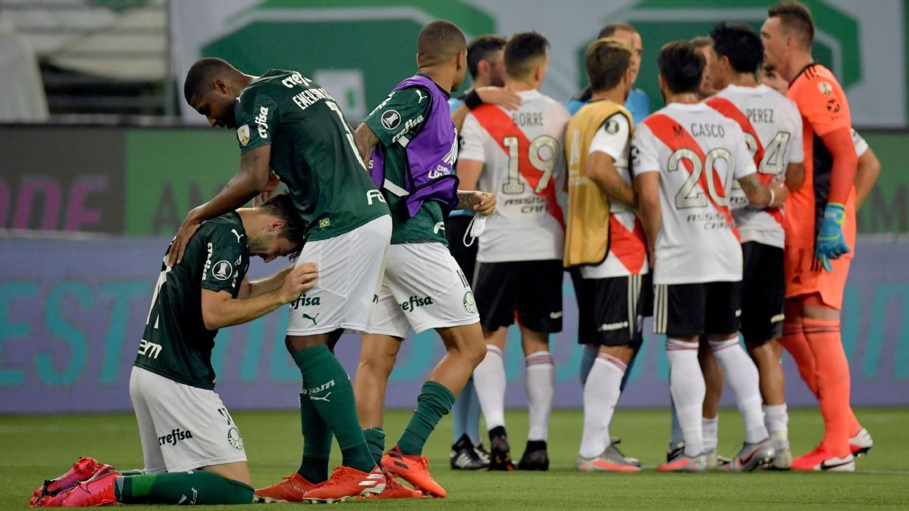 Palmeiras vs. River Plate - Football Match Report - January 12, 2021 - ESPN