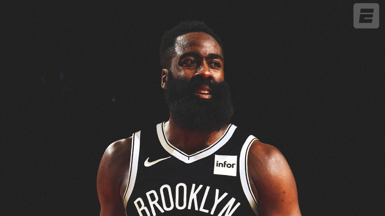 Harden thanks Rockets, fans for 'leap of faith'