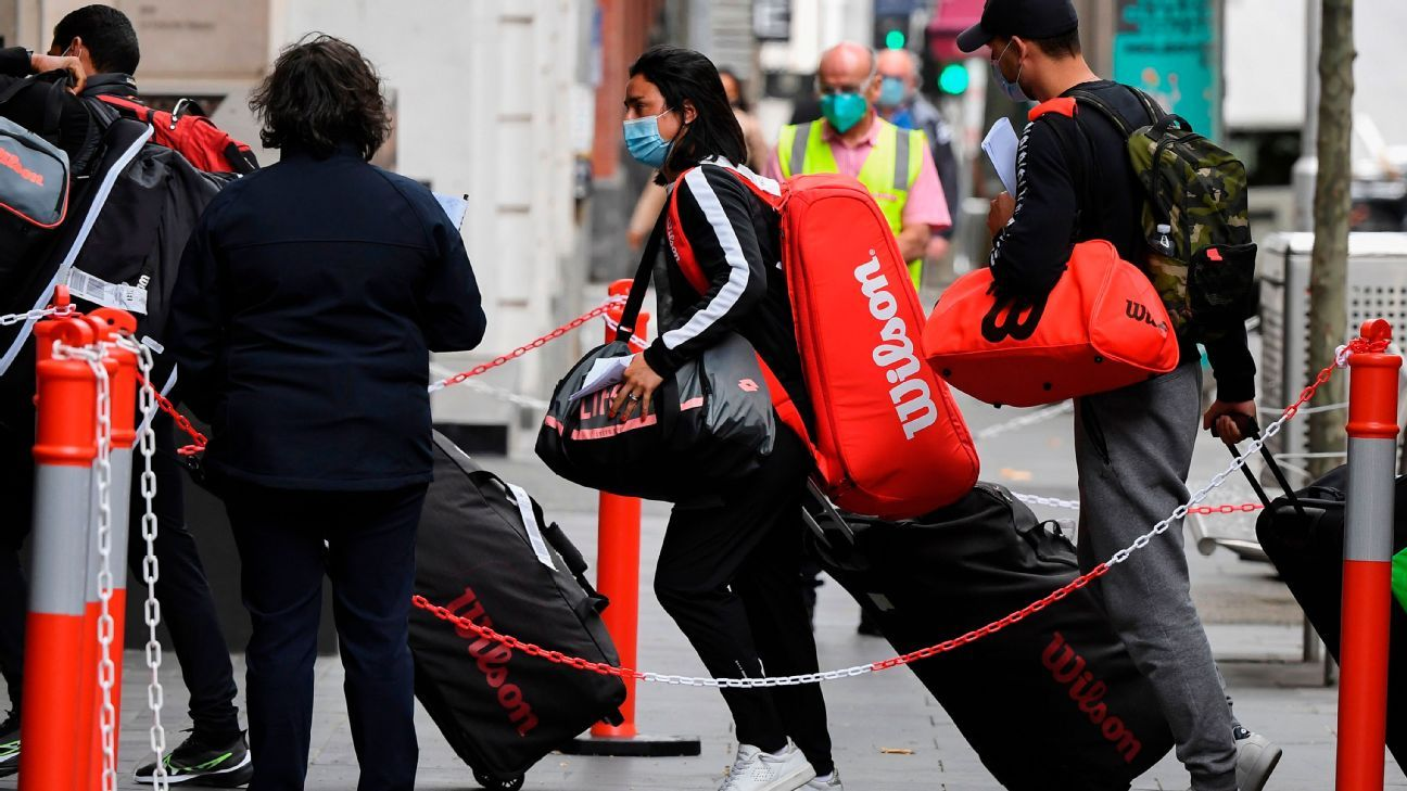 47 players quarantined in run-up to Aussie Open