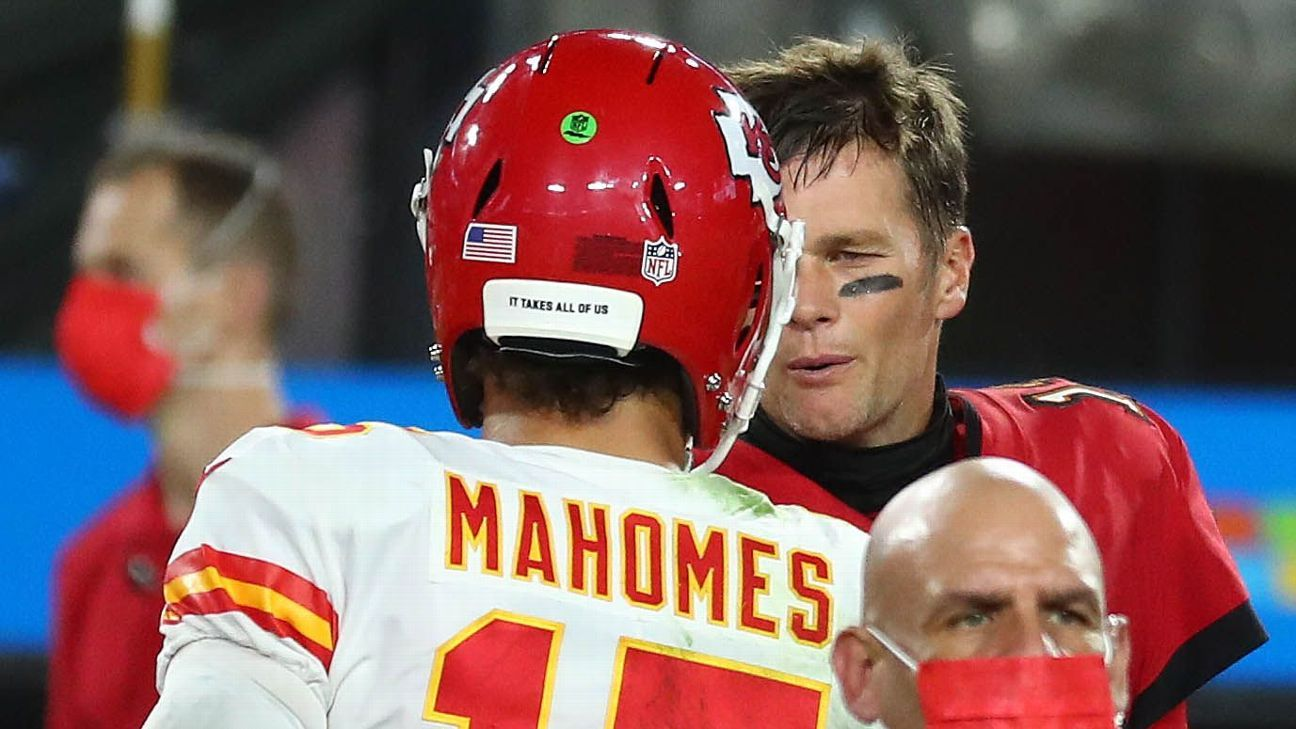 Chiefs' Patrick Mahomes could join select club of QBs to top Tom Brady in Super Bowl