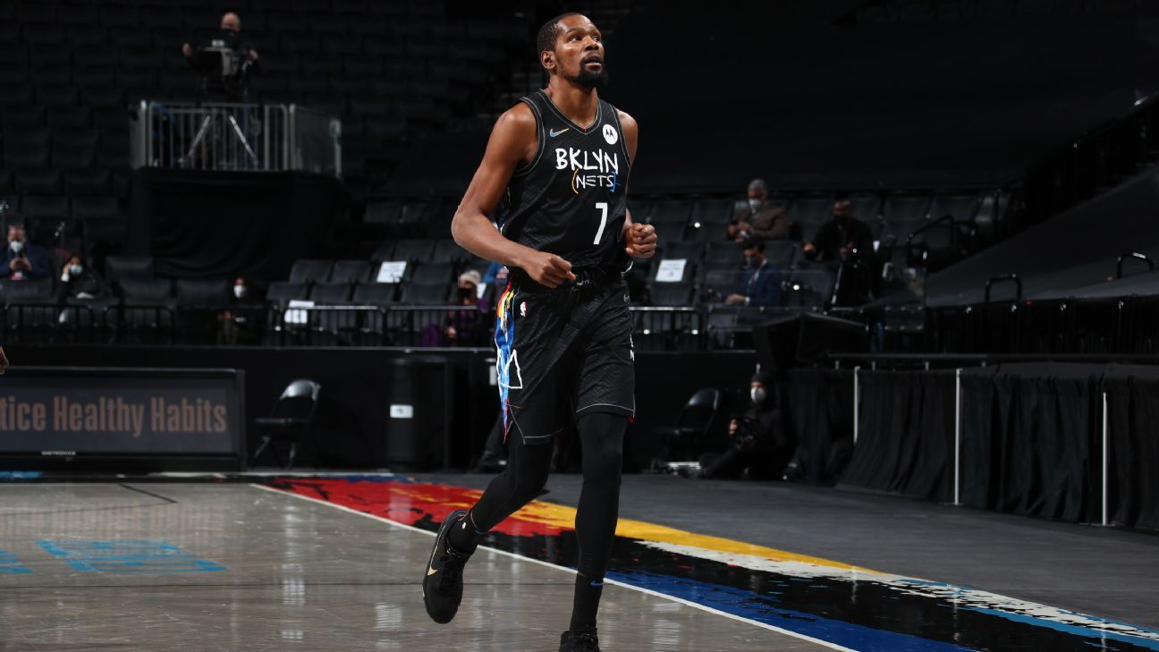 Durant (hamstring) out through All-Star break