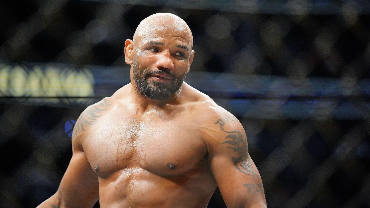 Anthony 'Rumble' Johnson vs. Yoel Romero highlights Bellator Light Heavyweight World Grand Prix slate - ESPN