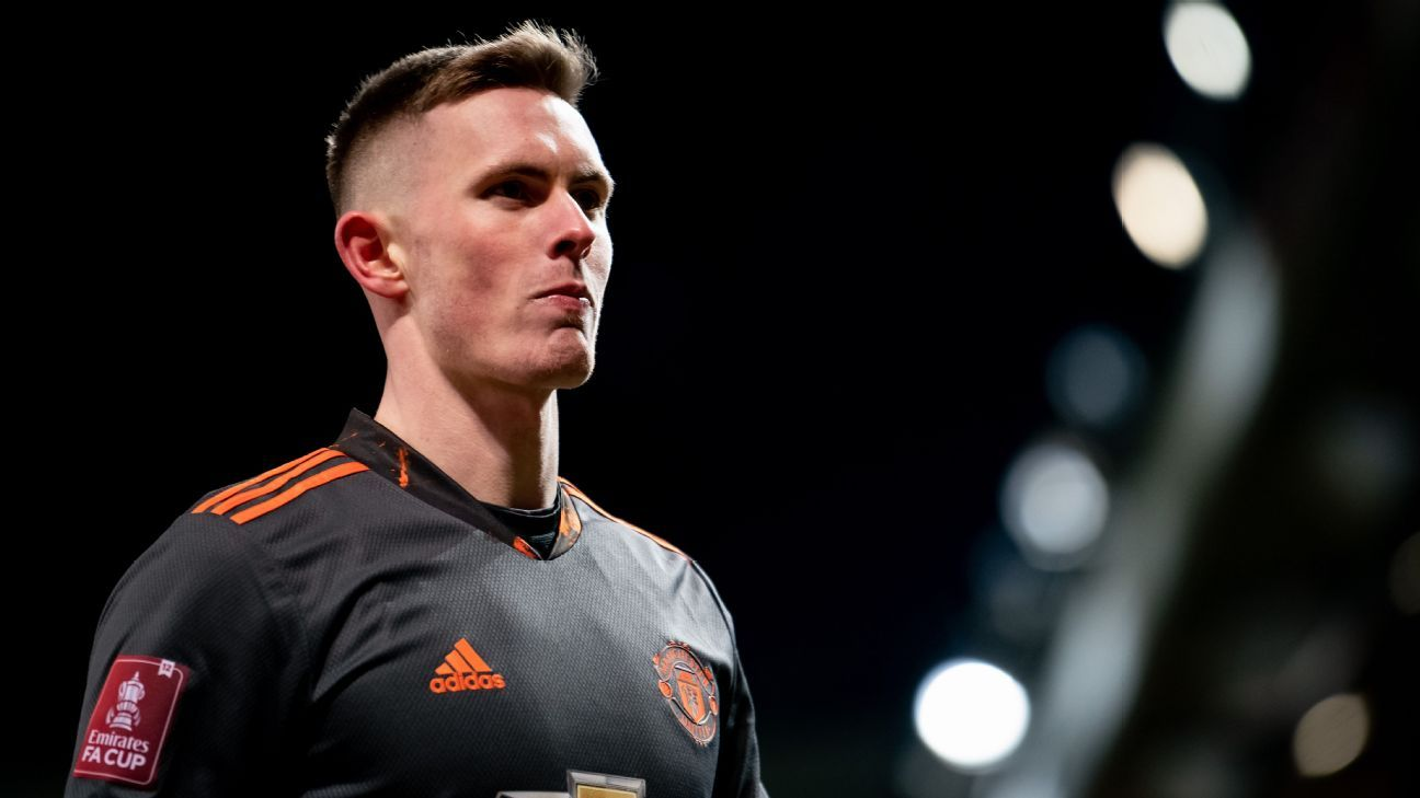 Henderson wants to be Man United No. 1, and despite quiet night vs. West Ham, he's making his case for dislodging De Gea - ESPN India