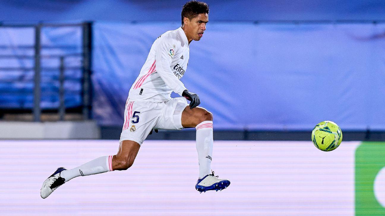 Image Varane, Kounde, Mings on Man United defensive shortlist