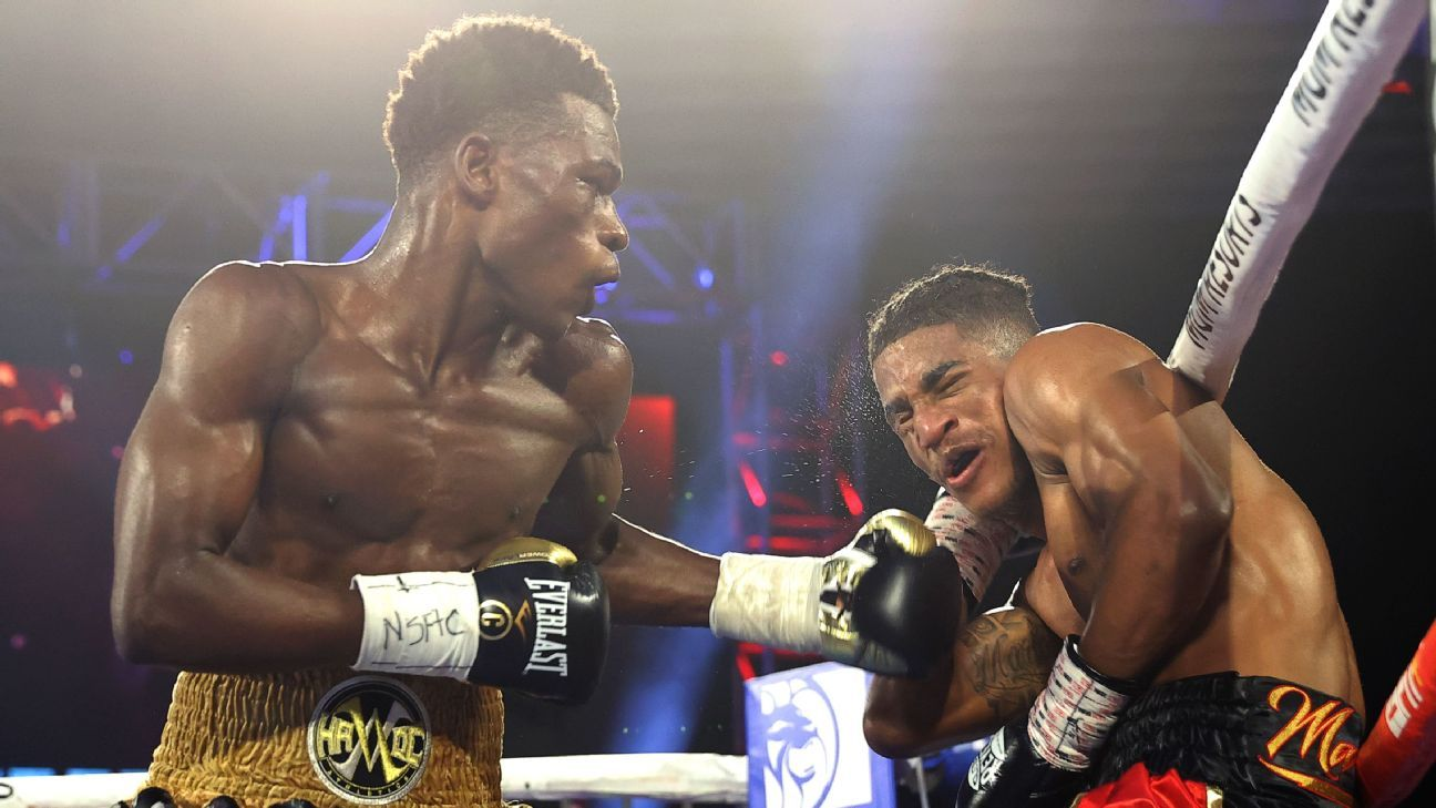 Commey finishes Marinez with sixth-round KO