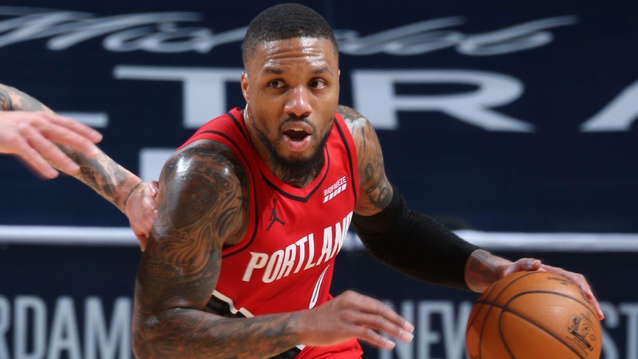 Locked-in Portland Trail Blazers win behind Damian Lillard's key basket - ESPN