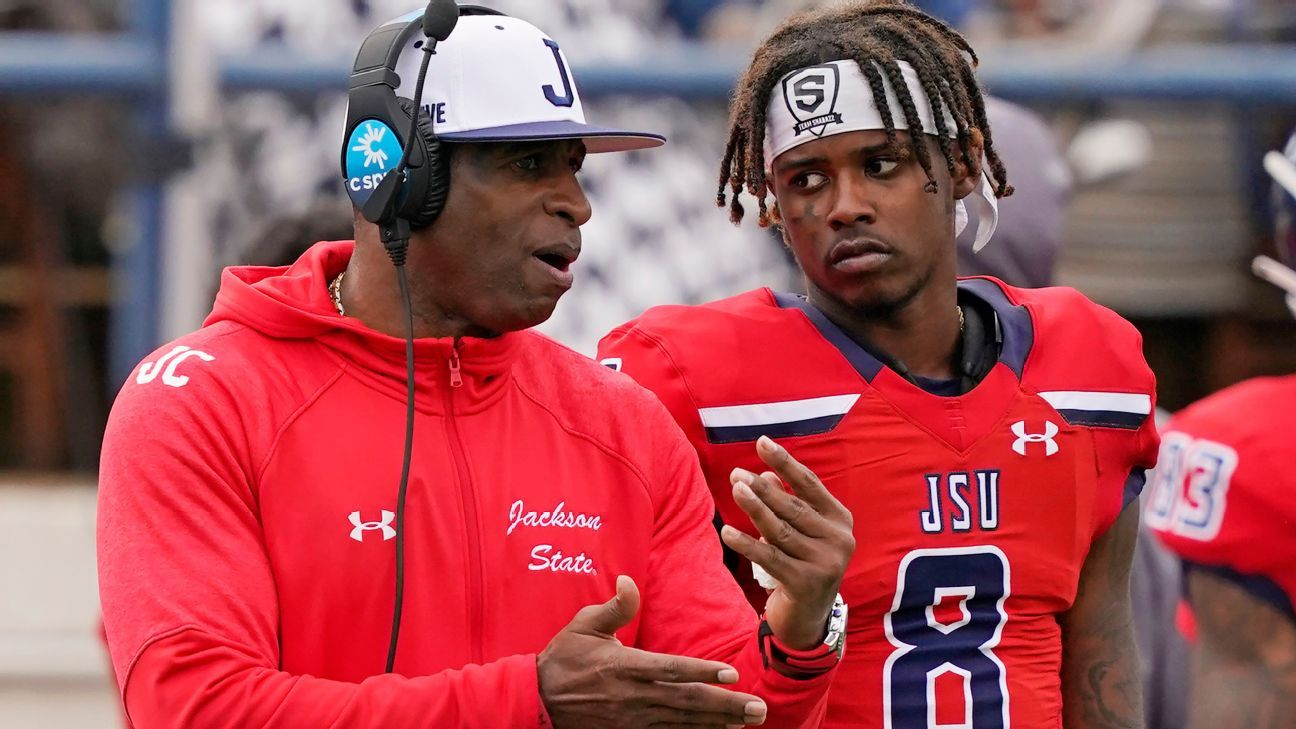 Deion Sanders says personal items were stolen from office during Jackson State coaching debut, later recovered - ESPN
