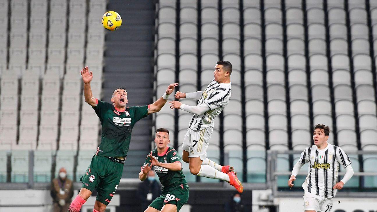 ¡Implacable! Los goles de Cristiano Ronaldo en la victoria de Juventus ante Crotone por la Serie A