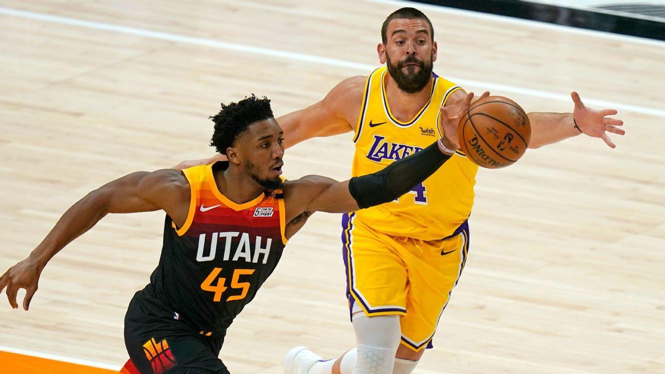 Short-handed Los Angeles Lakers without center Marc Gasol, forward Kyle Kuzma against Phoenix Suns - ESPN