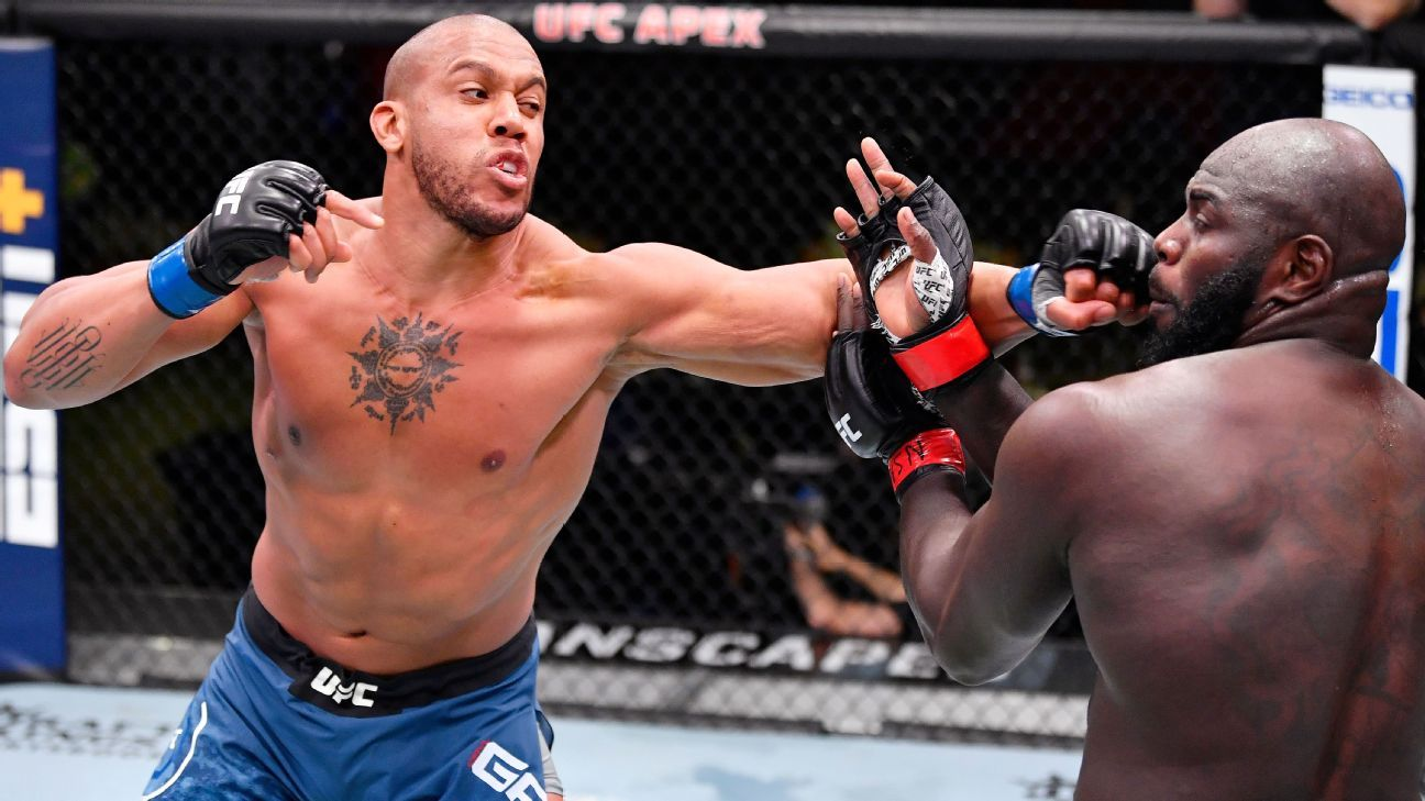 Saying he 'just wanted to manage' Ciryl Gane controls Jairzinho Rozenstruik in ho-hum fashion in main event of UFC Fight Night – ESPN