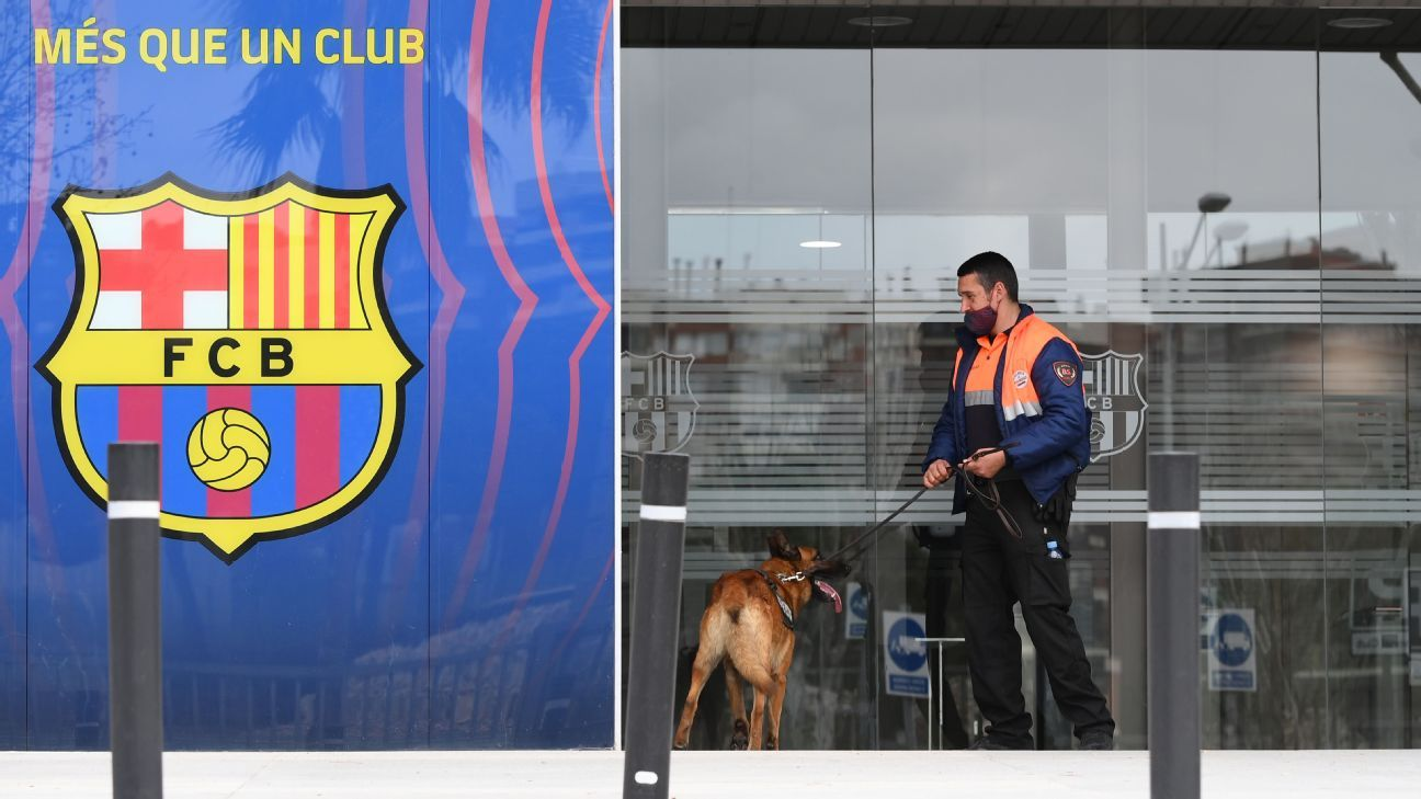 Barcelona crisis: Chaos on and off the field