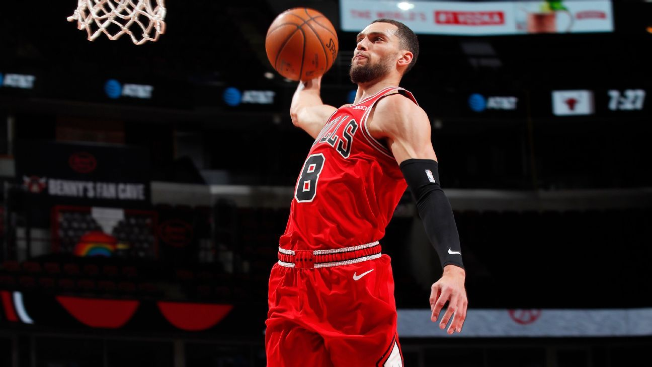 Zach LaVine says this season 'crucial' for direction of Chicago Bulls, his own future