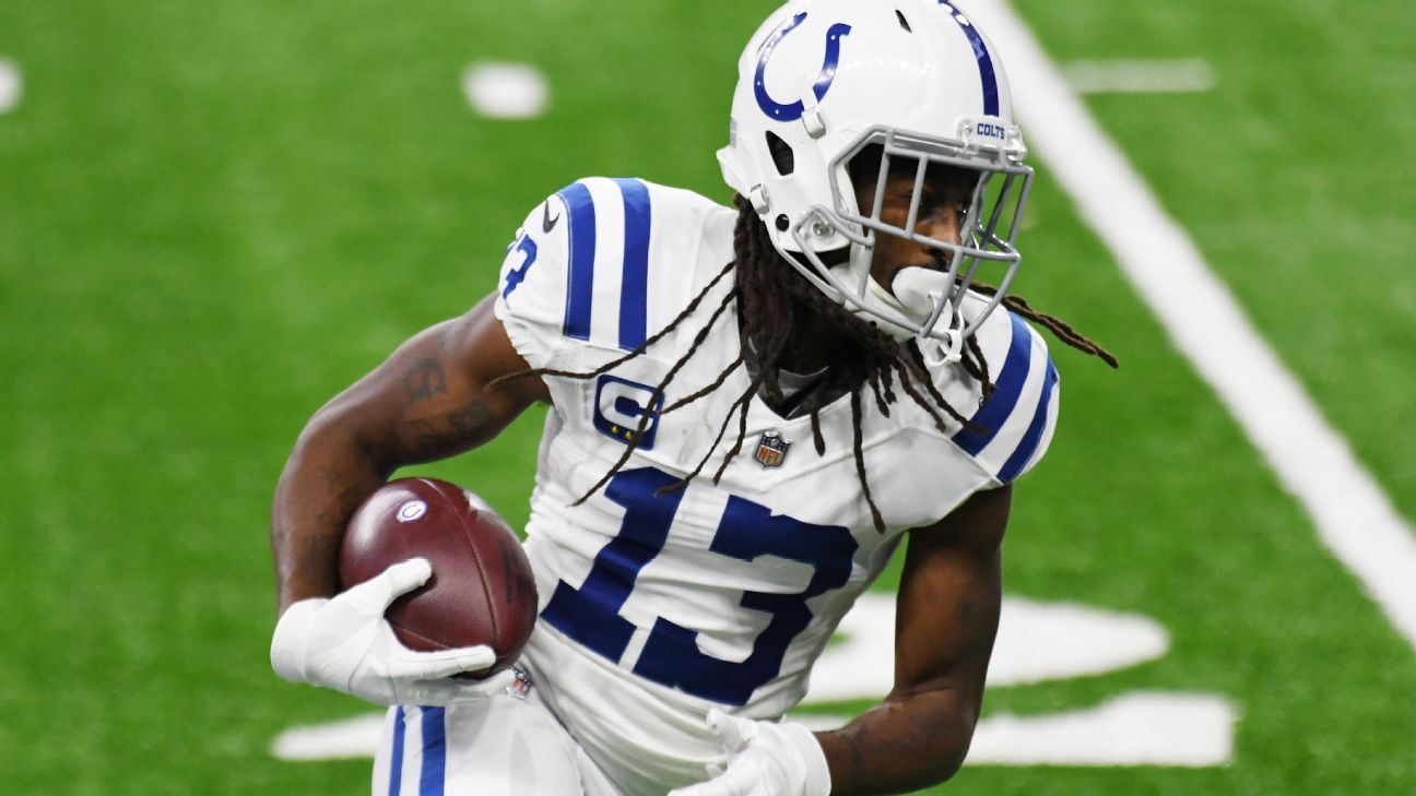 Colts' Hilton, after season debut, again ruled out
