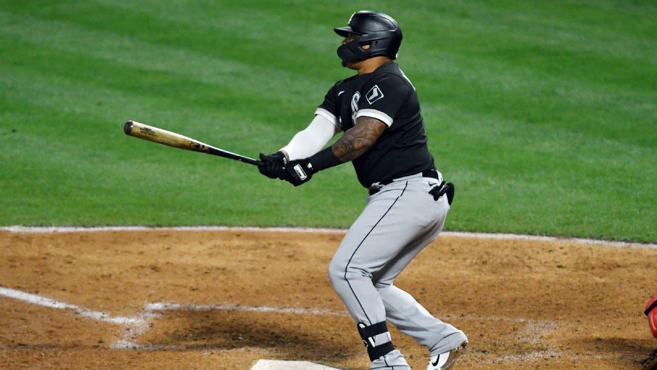 Chicago White Sox DH Yermin Mercedes starts season 8-for-8 to set MLB mark – ESPN