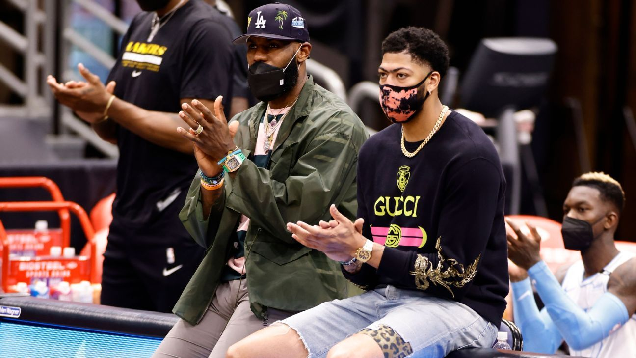 Sources: AD could return in 2 weeks; LeBron in 3