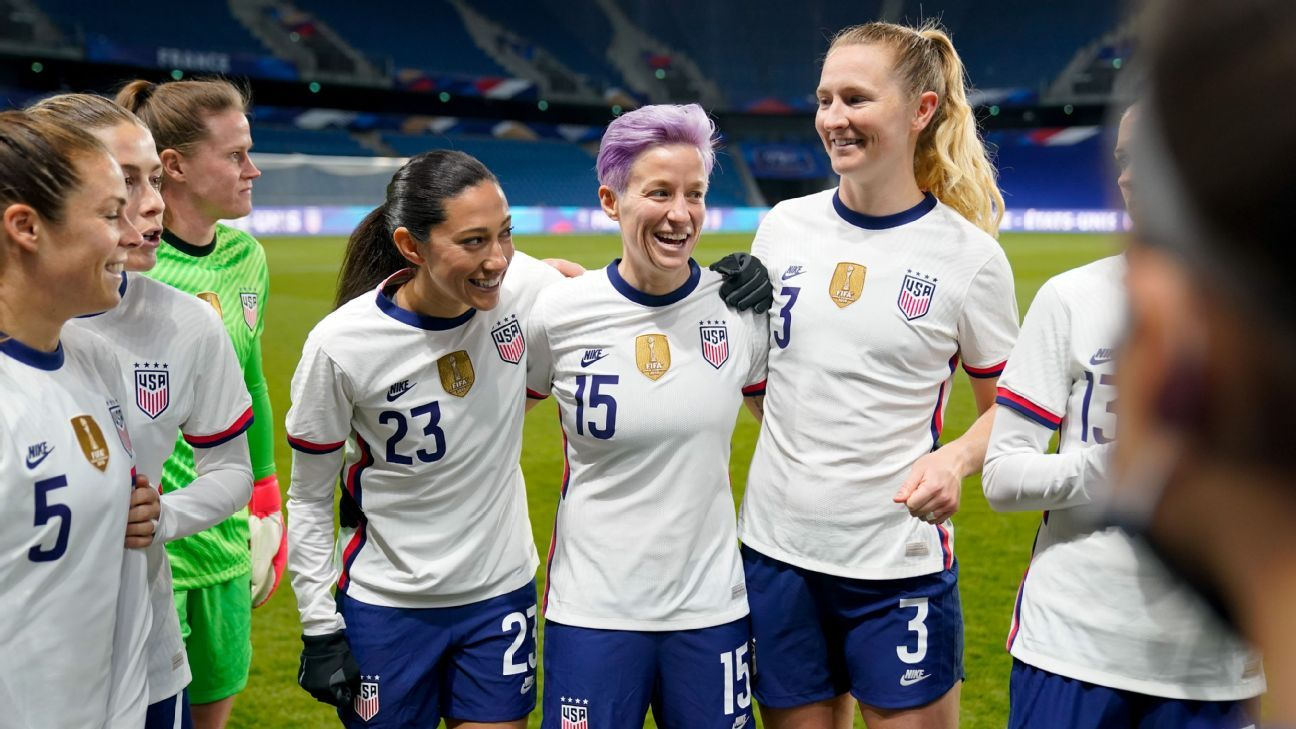 USWNT explore options, show versatility vs. Sweden, France as Olympic prep continues