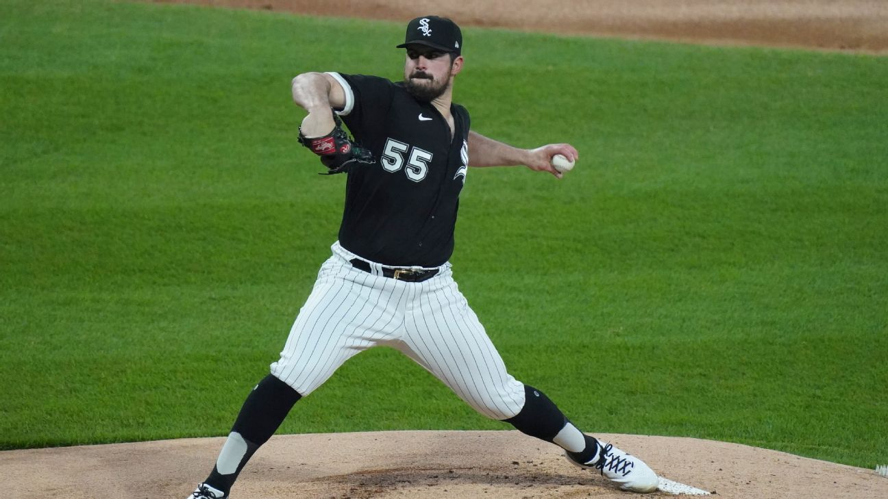 White Sox's Rodon throws no-hitter vs. Indians thumbnail