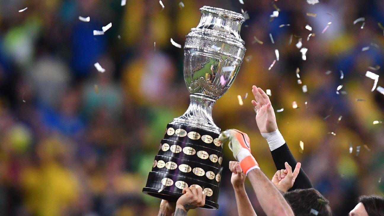 Copa America bracket and fixtures schedule