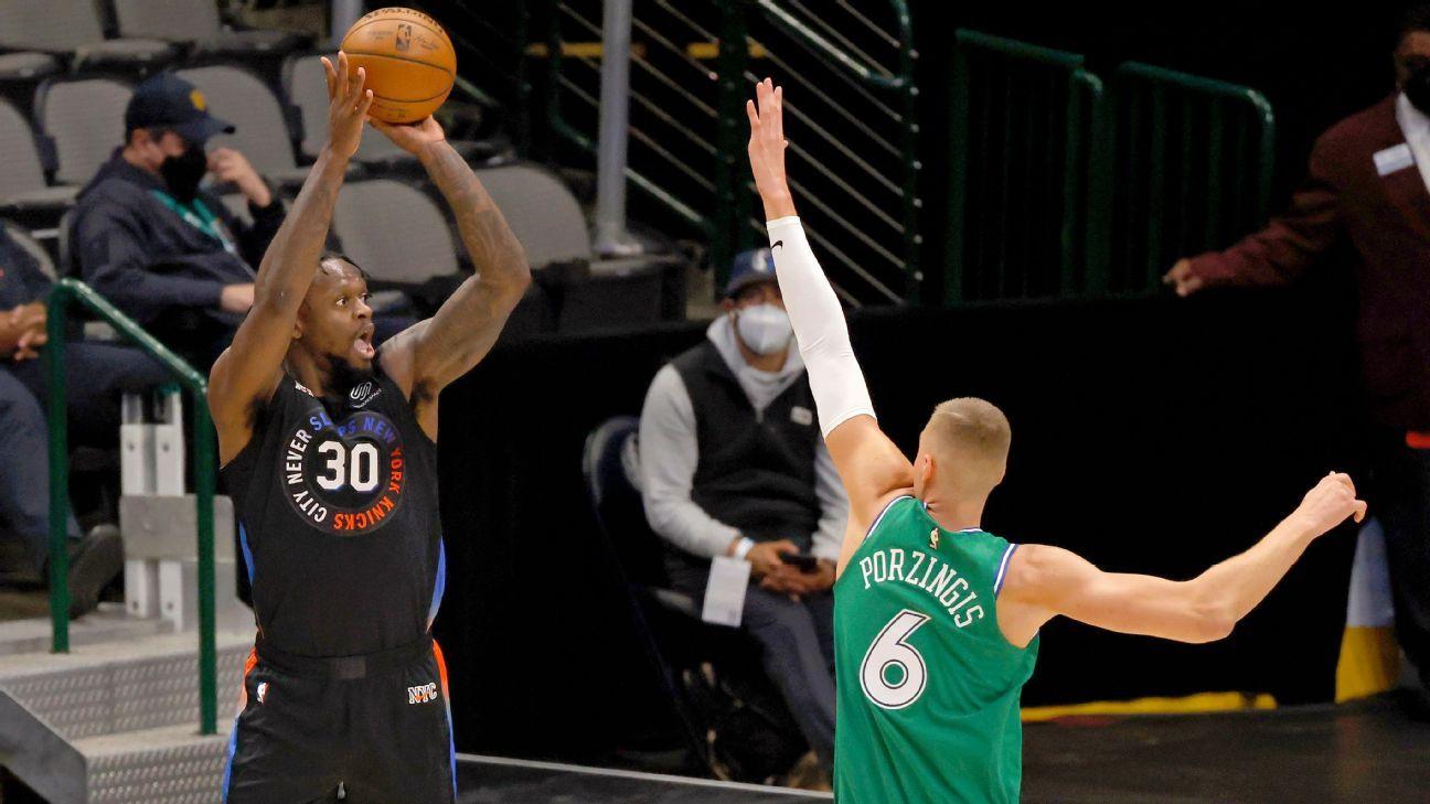 Streaking Knicks cite early faith for winning ways thumbnail