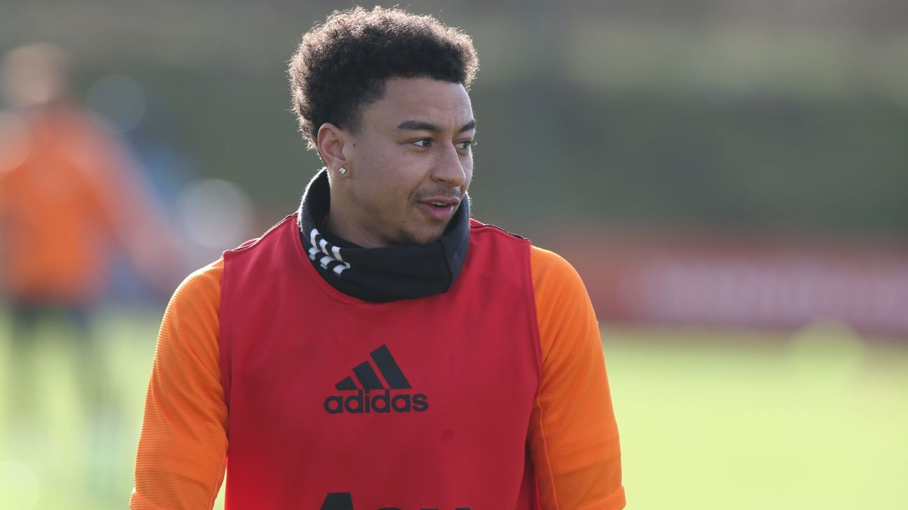 Man Utd's Lingard considered break from football amid mental health concerns - ESPN