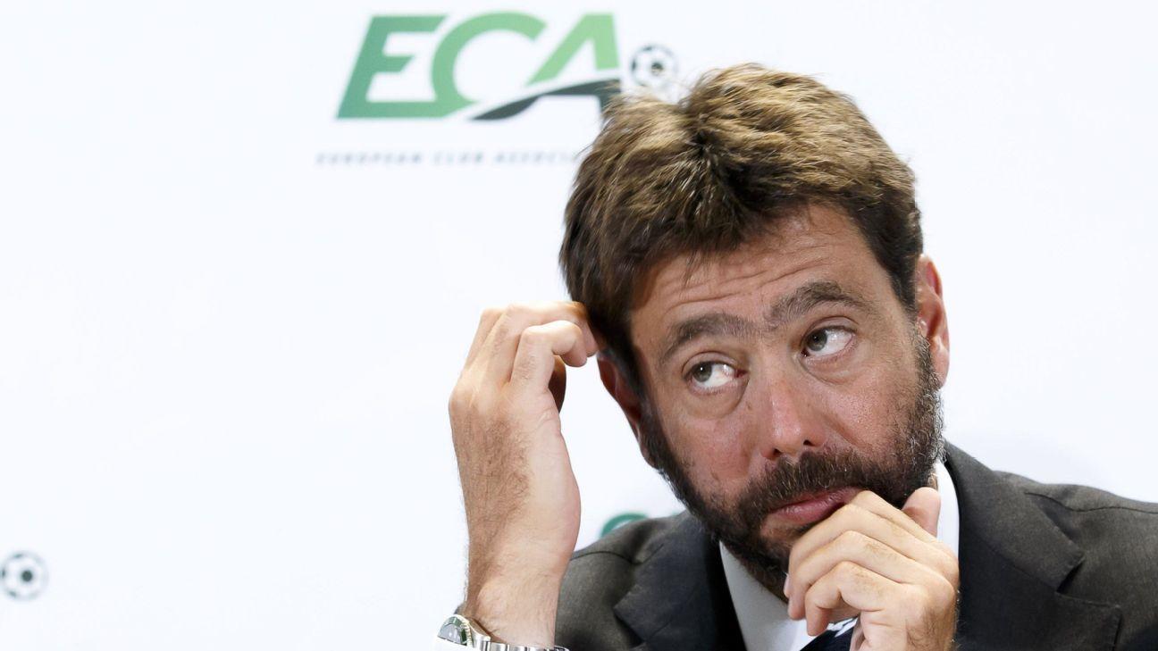 Andrea Agnelli, presidente de Juventus, acorralado por el intento de la Superliga Europea