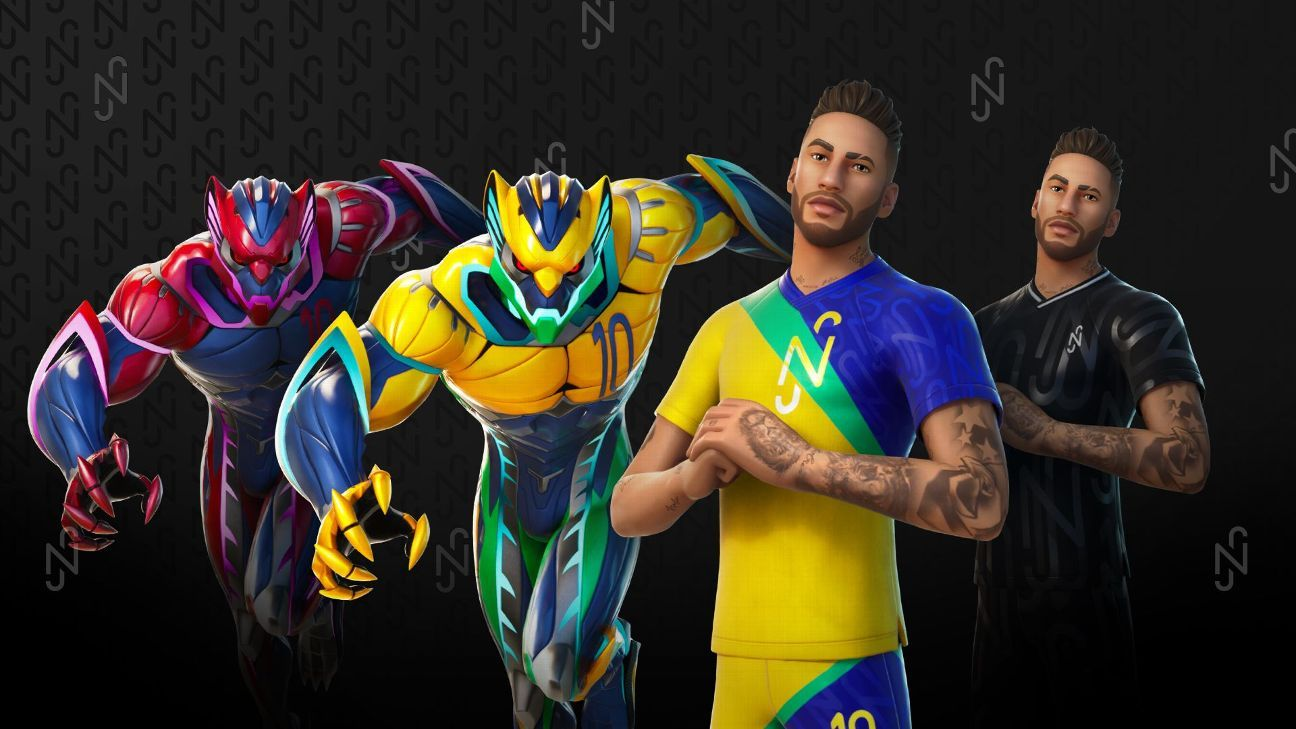 Neymar joins Fortnite! First look as star becomes game's first playable athlete thumbnail