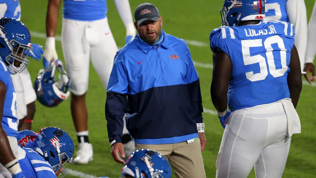 Ole Miss fires OL coach days after spring game thumbnail