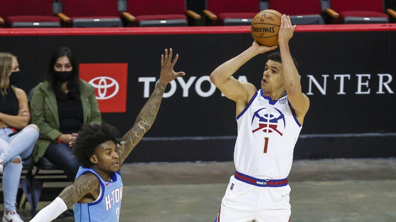 Fantasy basketball 30 - Michael Porter Jr.'s golden scoring run in Denver - ESPN