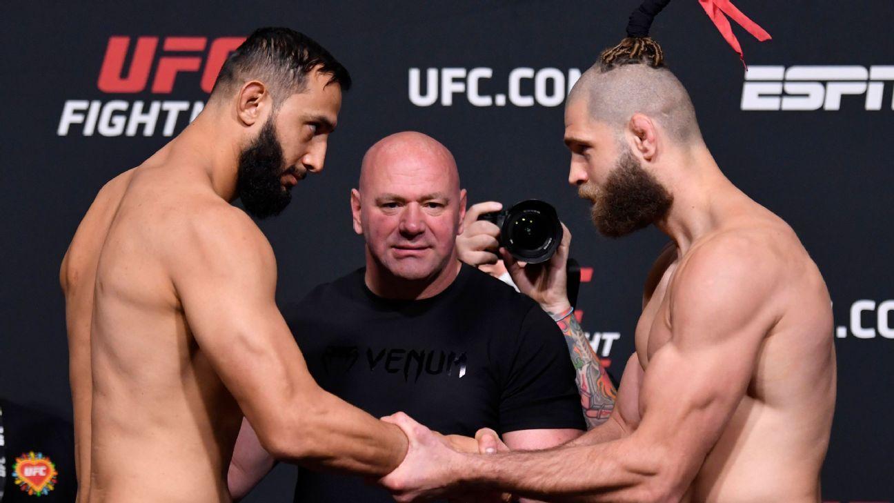 UFC Fight Night Reyes vs. Prochazka: Live results and analysis