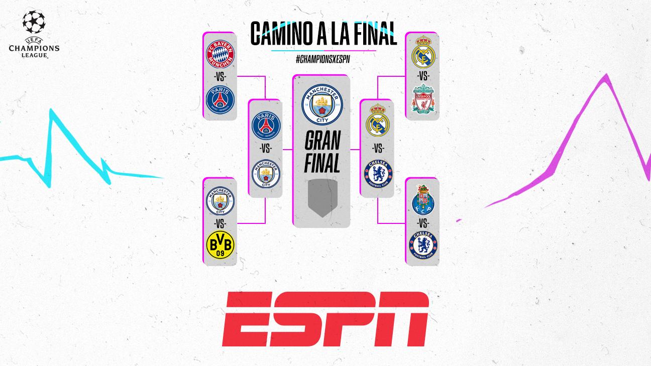 Manchester City está en la final de la Champions League a la espera de Real Madrid o Chelsea