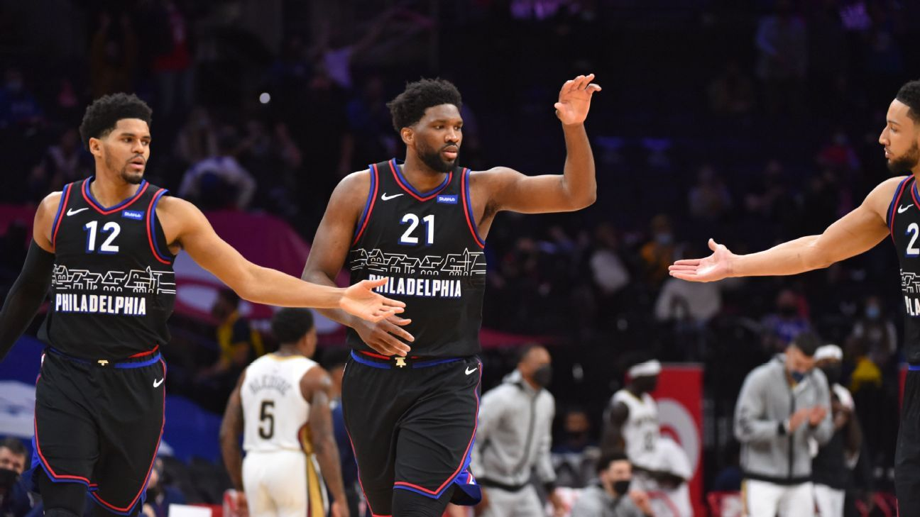 NBA playoff watch: Sixers close in on East's top seed, Pelicans in trouble