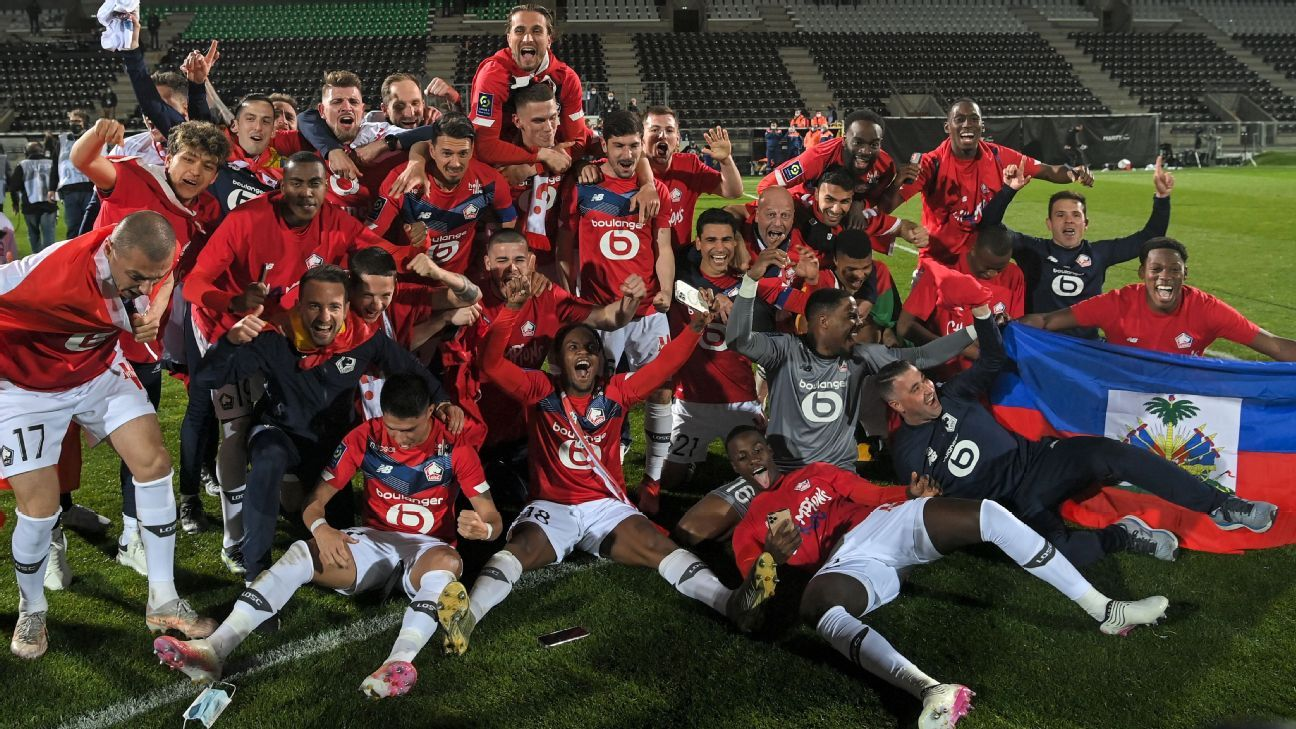 Lille end PSG dominance to win Ligue 1 title