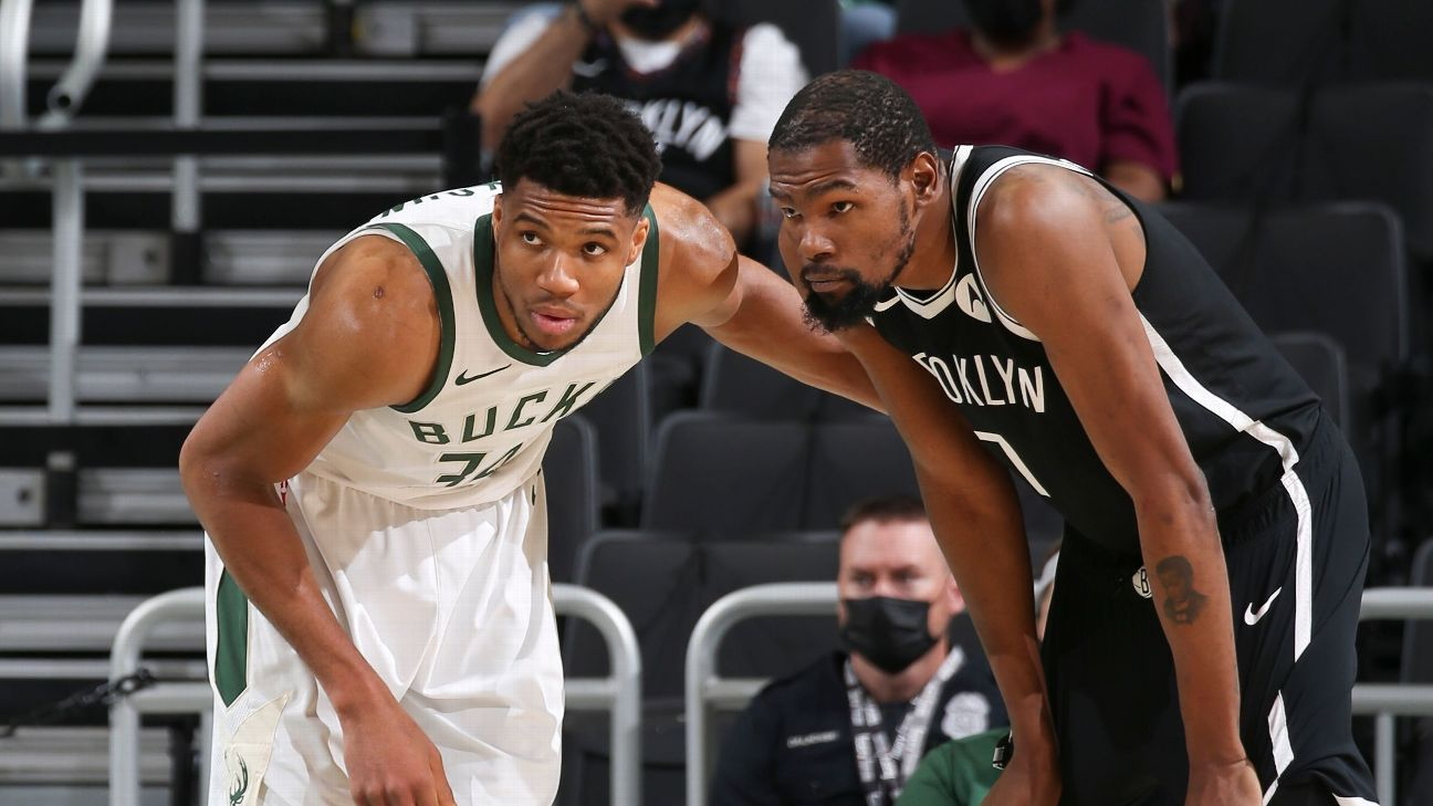 Can Trae be stopped? Are the Bucks too big for Nets? Answering the key questions ahead of East semis thumbnail