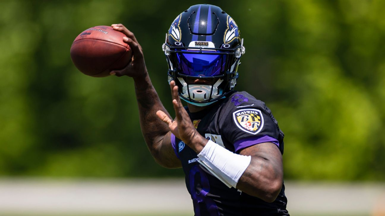 Lamar Jackson tests positive for COVID-19, misses opening practice of Baltimore Ravens training camp