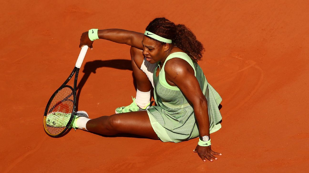Serena Williams Loses in Straight Sets to 21-Year-Old Elena Rybakina in Fourth Round of French Open