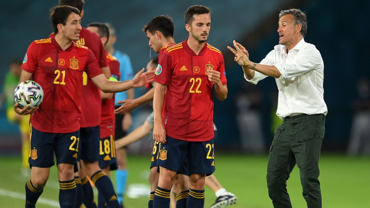 Spain dominates Sweden, but draw feels like two points dropped