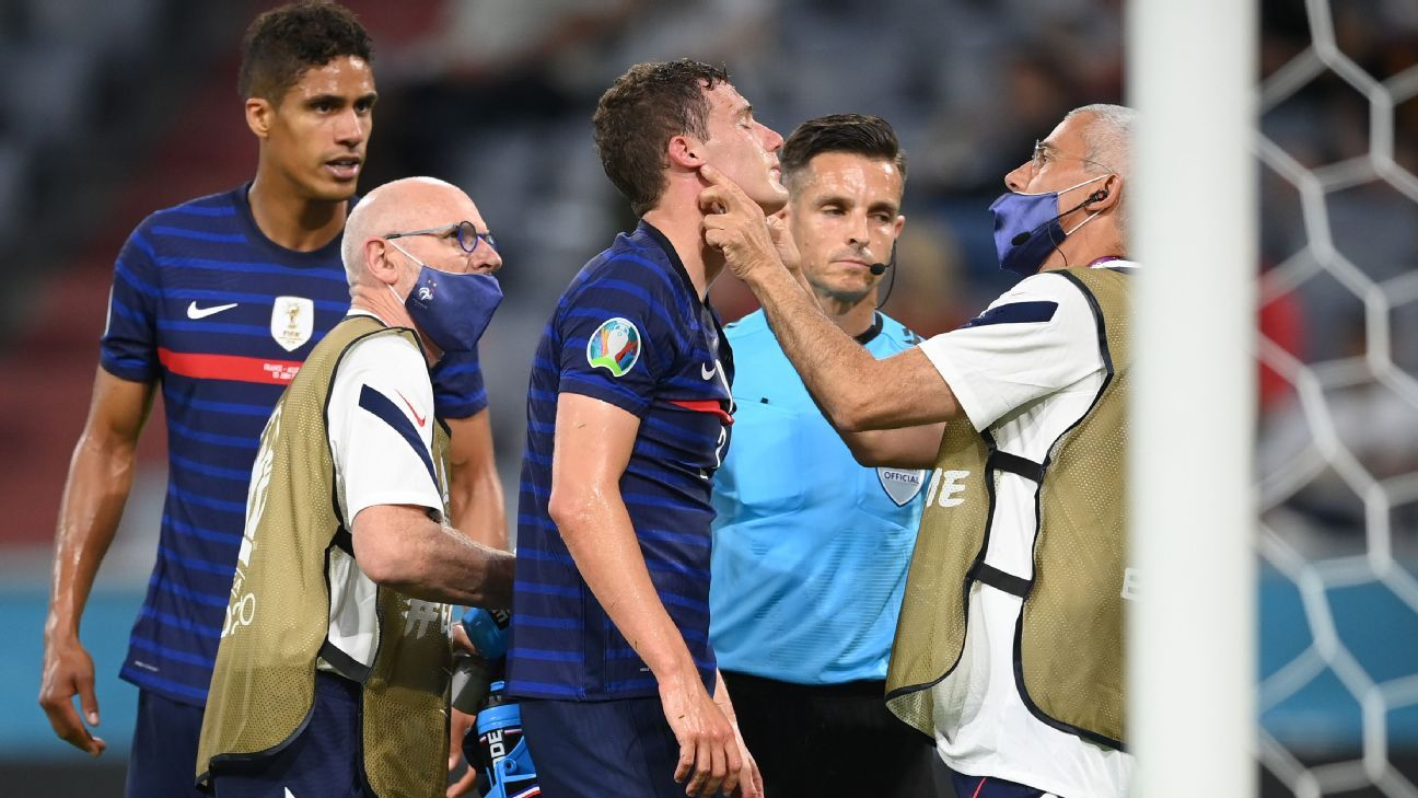 Sources: France followed protocol over Pavard