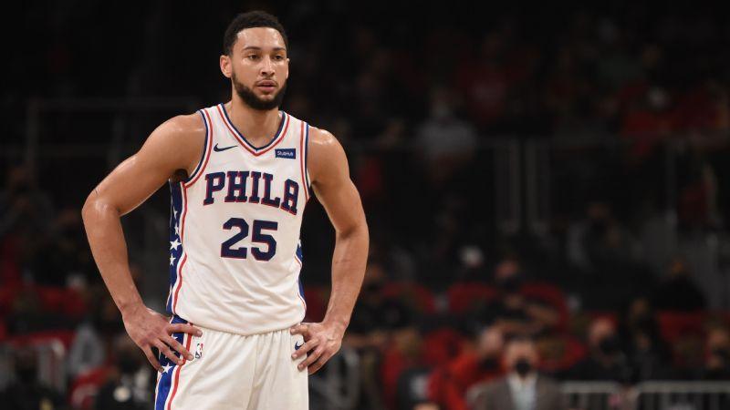Fuentes: Ben Simmons no se reportará, no volvería a jugar con los Philadelphia 76ers