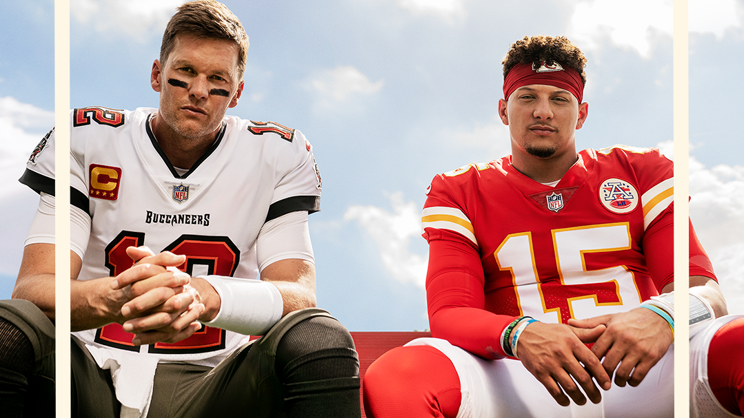Tom Brady, Patrick Mahomes share Madden 22 front as EA features two cover athletes for first time in 12 years