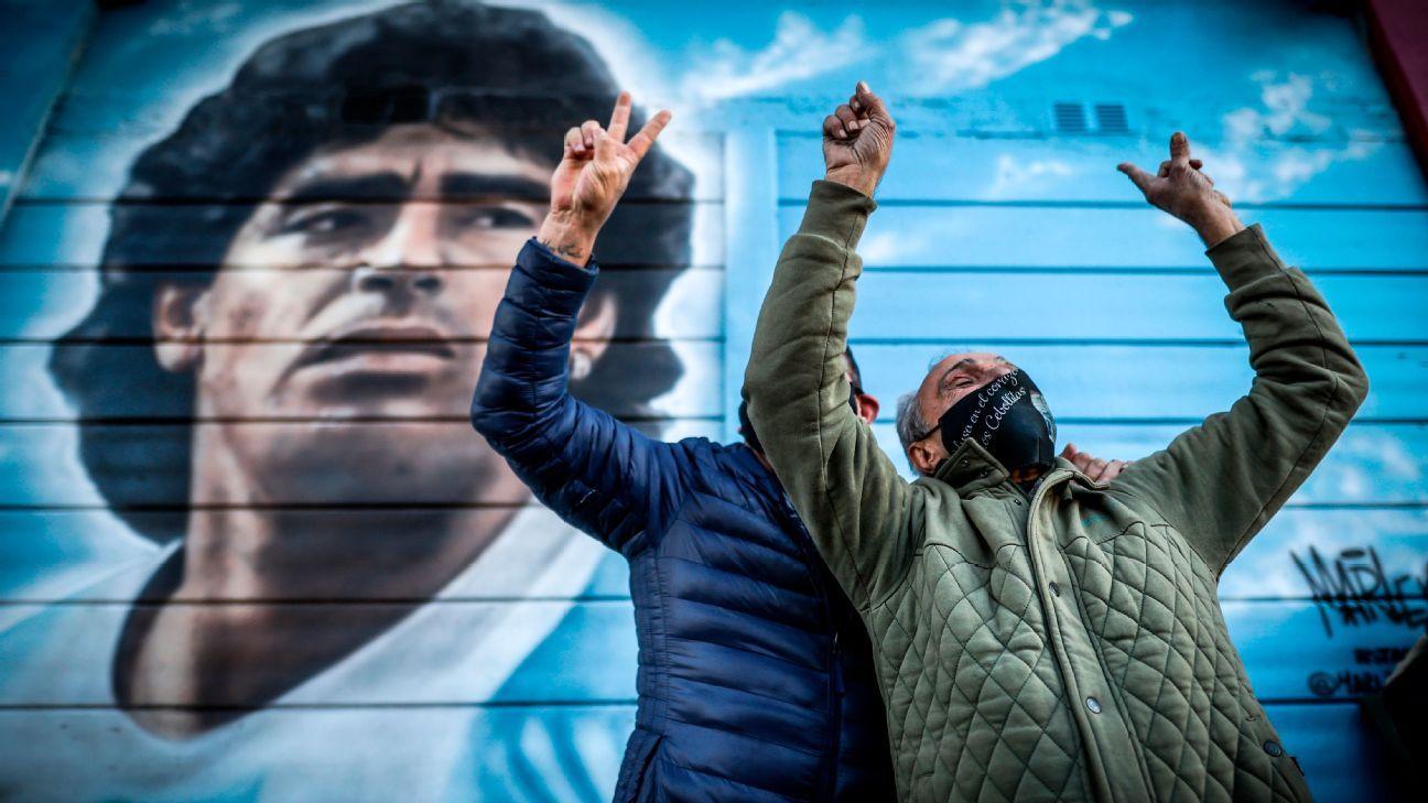 Argentina volvió a gritar el mejor gol de la historia: el de Diego Maradona a Inglaterra en el Mundial 1986