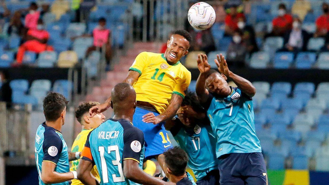 Brazil vs. Ecuador - Football Match Report - June 27, 2021 - ESPN