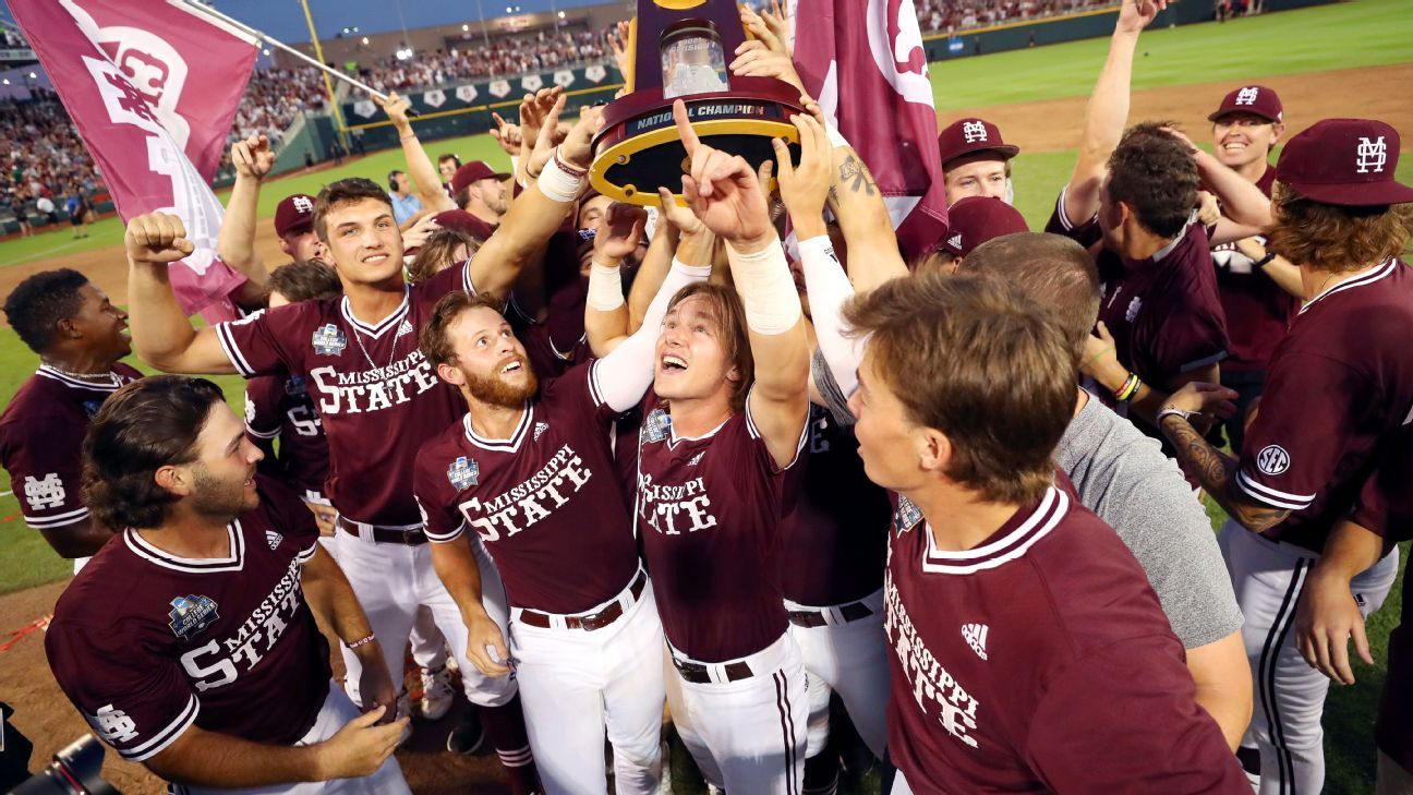 College World Series 2021 - Mississippi State ends a 126-year title drought