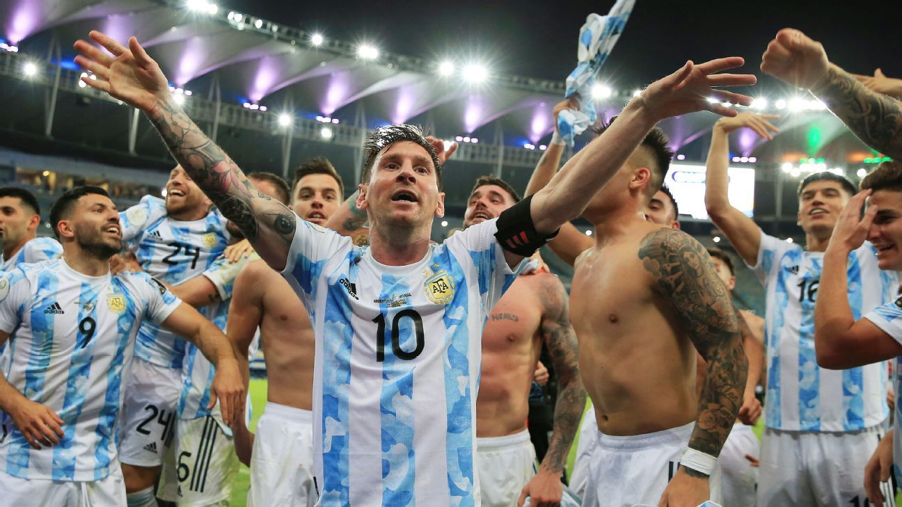 Messi played final with injury - Argentina coach