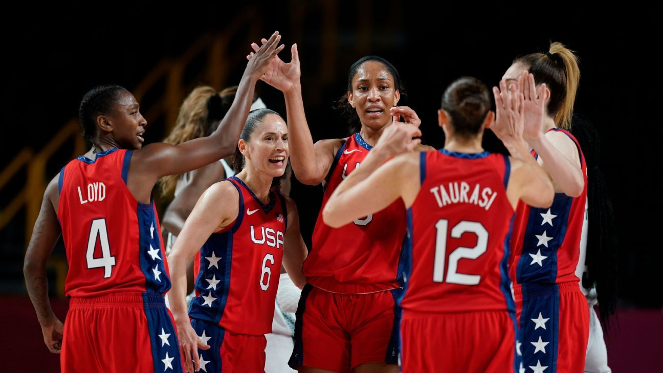 Olympics 2021 live updates: Back to the track, U.S. women's hoops pursues perfection and USWNT has eyes on the final
