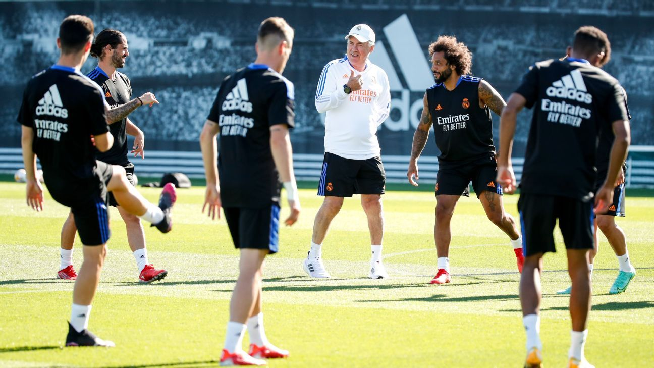 Real Madrid's low-key summer is just how Ancelotti likes it thumbnail