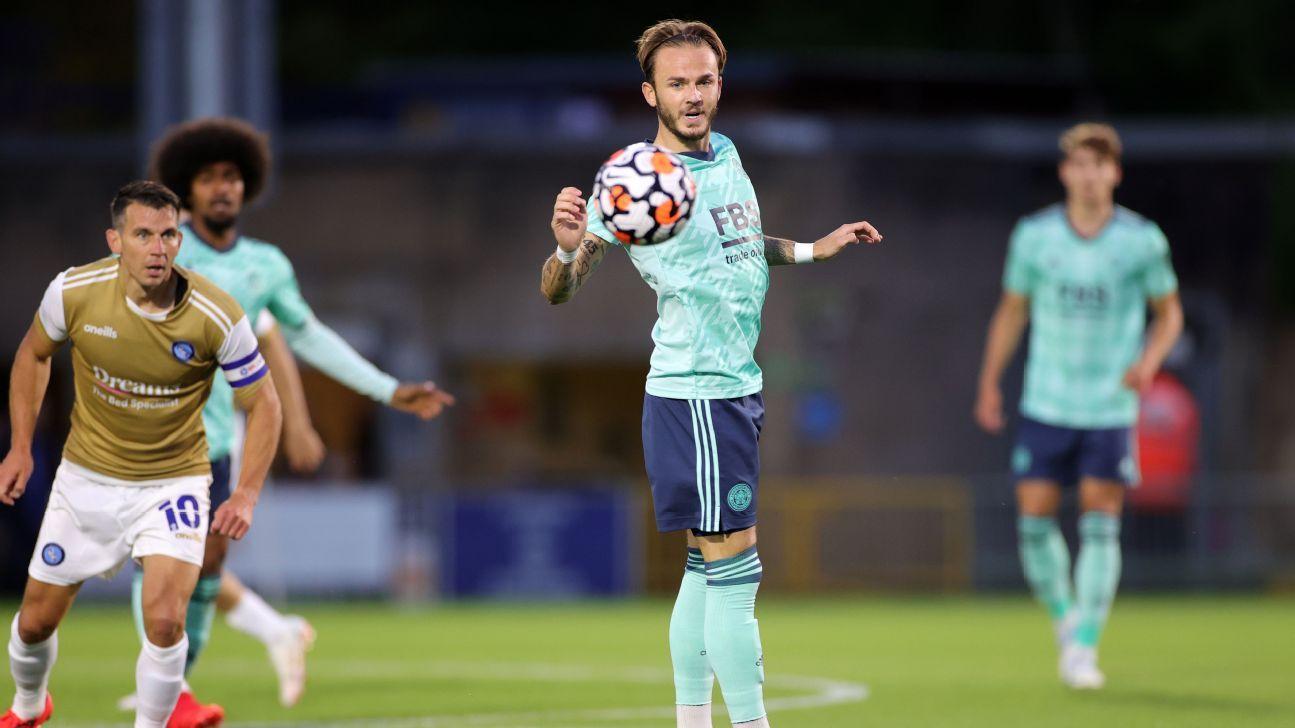 Transfer Talk: Arsenal eye Leicester's James Maddison, keep Madrid's Martin Odegaard on radar